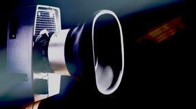 Camcorder för tappning super8 arkivbild