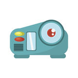 Camcorder film movie device icon. Illustration eps 10 Stock Photo