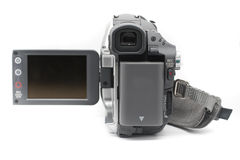 Camcorder Mini DV camcorder view finder Royalty Free Stock Images