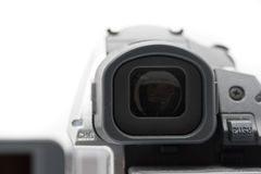 Camcorder Mini DV camcorder view finder Royalty Free Stock Photo