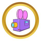 Camcorder vector icon Royalty Free Stock Images