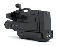 Camcorder  on white background. Royalty Free Stock Photography