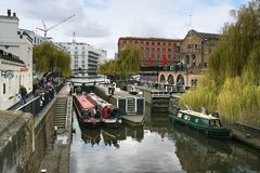 Camden canals Stock Photography