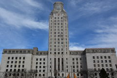 Camden City Hall in New Jersey. USA Stock Photos
