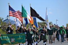Camden County Emerald Society Royalty Free Stock Photo