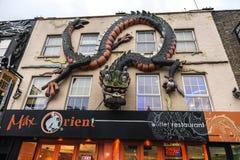 Camden głowna ulica w Londyn, Anglia, Zjednoczone Królestwo Zdjęcie Royalty Free