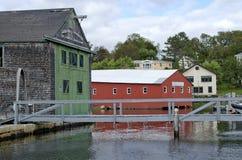 Camden Harbor Foto de archivo