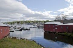 Camden Harbor Fotografía de archivo libre de regalías