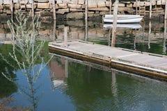 Camden Harbor Fotografia Stock Libera da Diritti