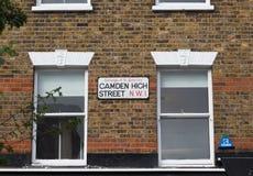 Camden High Street London Stock Photography