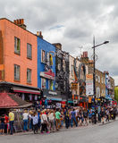 Camden High Street Royalty Free Stock Images