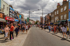 Camden High Street Royalty Free Stock Photo
