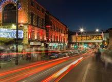 Camden kędziorek przy nocą Obrazy Stock