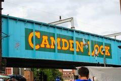 Camden kędziorek Fotografia Stock