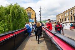 Camden kędziorek w Camden miasteczku, Londyn, UK Zdjęcia Royalty Free