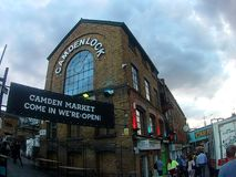 Camden Lock fotografia stock libera da diritti