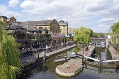 Camden Lock Imagen de archivo libre de regalías