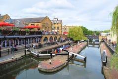 Camden Lock lizenzfreies stockfoto