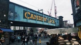 Camden Lock Royalty-vrije Stock Afbeeldingen