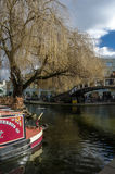 Camden lock. Boats at camden lock in london Royalty Free Stock Image