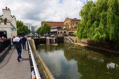 Camden Lock in Camden Town, London, UK Royalty Free Stock Photo