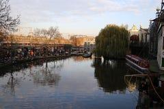 Camden Lock, het Verenigd Koninkrijk Stock Fotografie