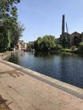 Camden lock. London river Stock Image