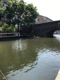 Camden lock. London river Royalty Free Stock Photo