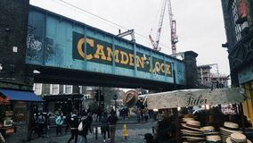 Camden lock Royalty Free Stock Images