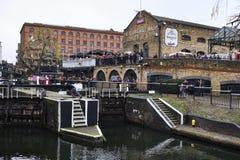 Camden Lock in London, UK royalty free stock images