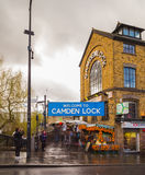 Camden Lock, London Royalty Free Stock Photography