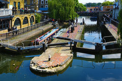 Camden Lock in London, UK Stock Photos