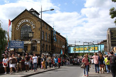 Camden Lock, Londres Photographie stock libre de droits