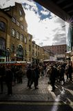 Camden lock. Market in london Stock Image