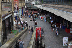 Camden Lock Market, London Stock Photography