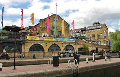 Camden Lock. Market is one of the markets in Camden, London Stock Image