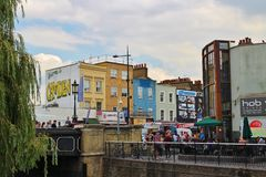 Camden Lock Stock Images