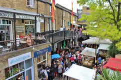 Camden Lock Market Royalty Free Stock Photography