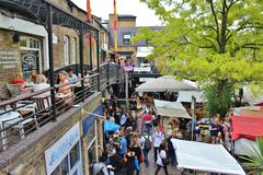 Camden Lock Market Stock Image