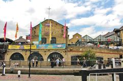 Camden Lock. Market is one of the markets in Camden, London Royalty Free Stock Photography