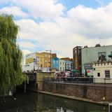 Camden Lock. Market is one of the markets in Camden, London Stock Photography