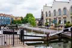 Camden Lock Regentenkanaal, Londen, Engeland Stock Foto