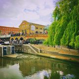 Camden Lock. A riverside view Royalty Free Stock Images