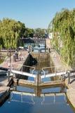 Camden Lock. View of Camden Lock, North London Royalty Free Stock Image