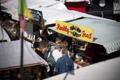 Camden, London, Greater London, UK, September 2013, Camden Town West Yard Market stock image