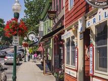 Camden, Maine, U.S.A. immagini stock libere da diritti