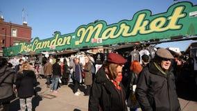 Camden Market almacen de metraje de vídeo