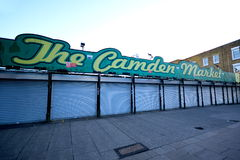 The Camden Market Royalty Free Stock Photography