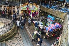 Camden Market i London, England, Förenade kungariket Arkivbild