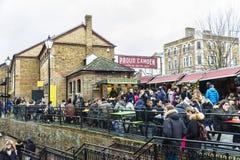 Camden Market i London, England, Förenade kungariket Royaltyfri Fotografi
